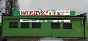 Weterynarz Pila Matuszewski 601568858 tablica Centrum